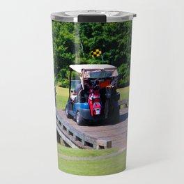 A Day Of Golf Travel Mug
