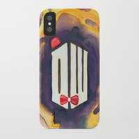 doctor who iPhone & iPod Cases featuring Doctor Who by foreverwars