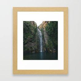 Secret Fall Framed Art Print