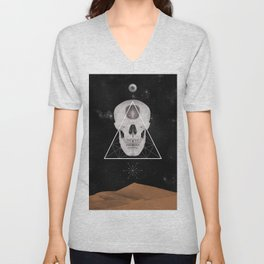 not a thing for no thing Unisex V-Neck