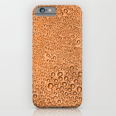 Water Condensation 05 Orange iPhone 6s Slim Case
