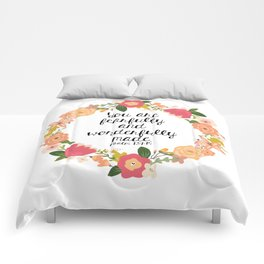 Fearfully & Wonderfully Made Comforters