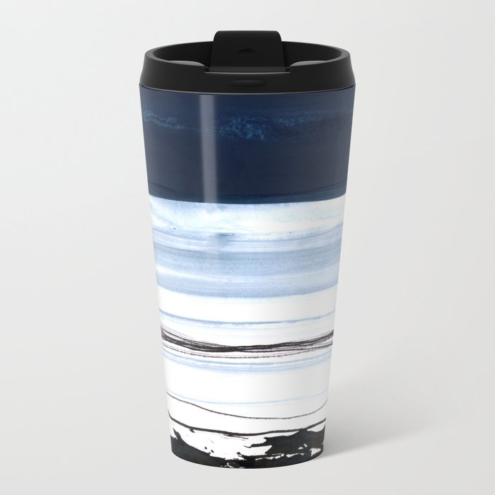 strata 2 Metal Travel Mug