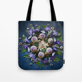 Nature Mandala: April II Tote Bag