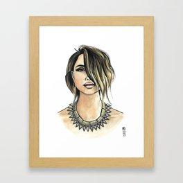 Lux Framed Art Print