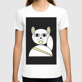 Maneki neko white T-shirt