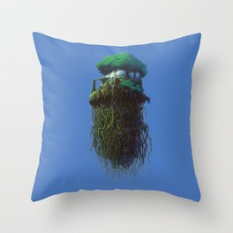 Laputa Throw Pillow