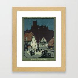 Vintage poster - France Framed Art Print