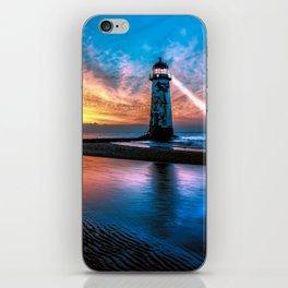 Light House Sunset iPhone Skin