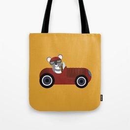 Koala Racer Tote Bag