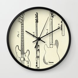 Guitar-1953 Wall Clock