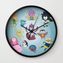 X-Men Adventures in The Land Of Ooo. Wall Clock