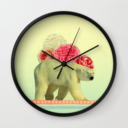 messenger in disguise Wall Clock