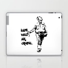 Blank Walls Are Criminal Laptop & iPad Skin