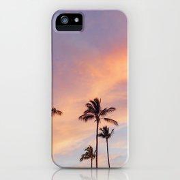 Palm Tree Walks in Kihei iPhone Case