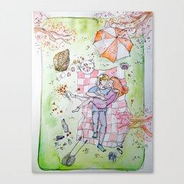 A Summer Picnic Canvas Print