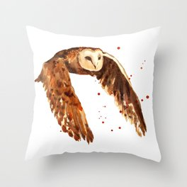 Journeying Home Throw Pillow