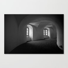 Inside the Round Tower Canvas Print