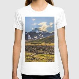Looking at a Volcano T-shirt