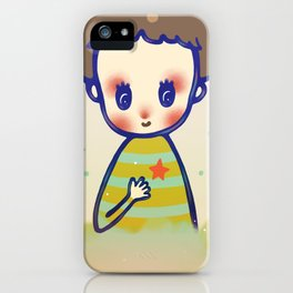 the little star in my heart iPhone Case