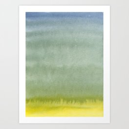 Shades of Olive Art Print