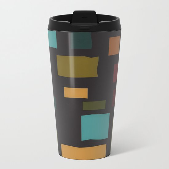The Pattern Gets Worse I Metal Travel Mug