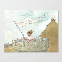 veritas vos liberabit Canvas Print