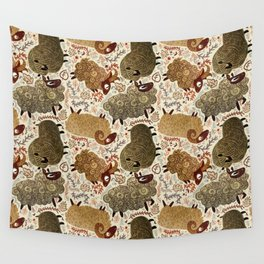 Grazing Sheep Wall Tapestry