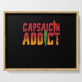 Capsaicin Addict Chili Serving Tray