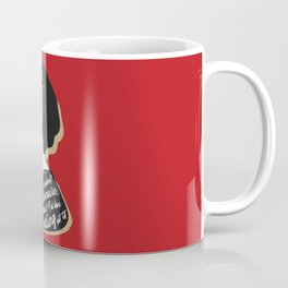 Millionaire Quote - Dorothy Parker - Red Coffee Mug
