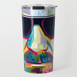 Pop Art London Vector Artist CONQR Ultimate Gangster Travel Mug