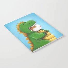 Guinea Pig in a Dinosaur Costume - Peegosaurus Rex Notebook
