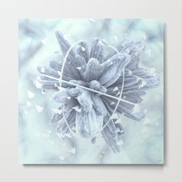 #Frozen #Foresight - 20151219 Metal Print