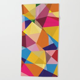 Creative Geometry Beach Towel
