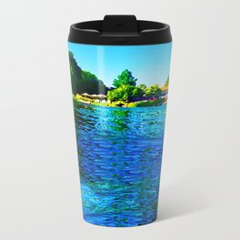 Bright River Flowing Travel Mug