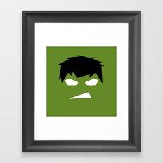 The Hulk Superhero Framed Art Print