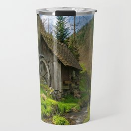Watermill Life in the Country Travel Mug