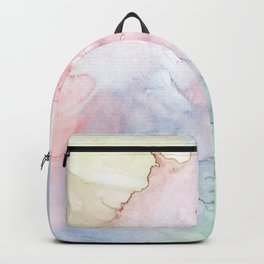 Pattern from colored water Backpack