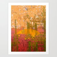 bamboo Art Prints featuring Bamboo  by dominiquelandau