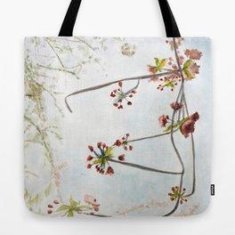 cherry bough Tote Bag