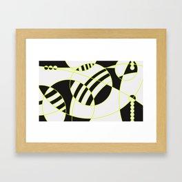 homenaje al gran W Framed Art Print