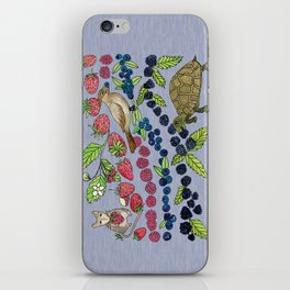 Summer Snack Time by Offhand Designs iPhone Skin