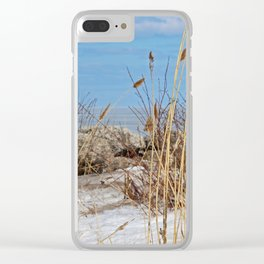 Moment of the Heart Clear iPhone Case