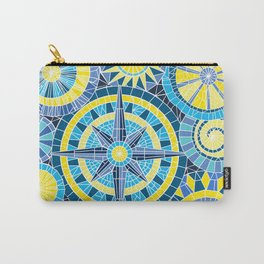 Mosaic Pinwheels Carry-All Pouch