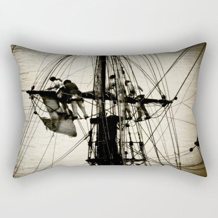 Loose The Sail Rectangular Pillow