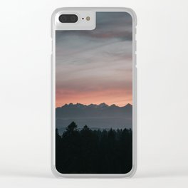 Mountainscape - Landscape and Nature Photography Clear iPhone Case