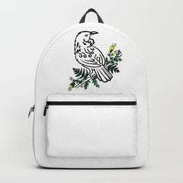 New Zealand Tui Bird Backpack