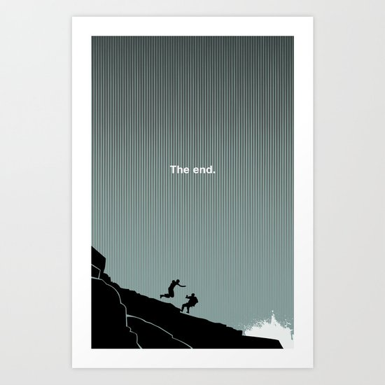 The End : LOST Art Print