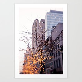 It was a magical morning Art Print