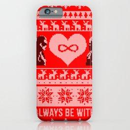 Clexa Christmas iPhone Case